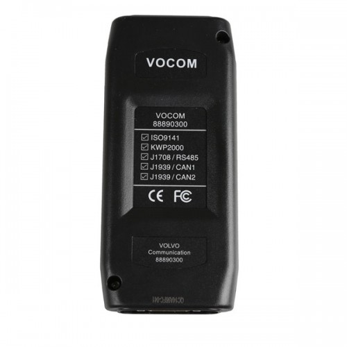 Volvo 88890300 Vocom Interface VCADS for Volvo/Renault/UD/Mack Truck with PTT 2.03.20 Software