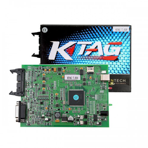 KTAG FW V7.020 SW V2.25 K-TAG ECU Programming Tool Master Version with Unlimited Token Only Main Unit