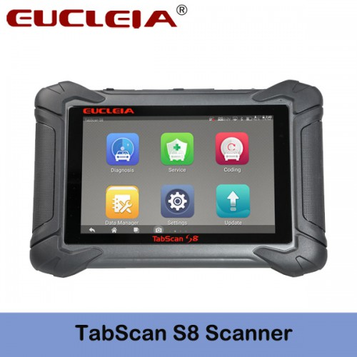 EUCLEIA TabScan S8 Automotive Intelligent Dual-mode Diagnostic System