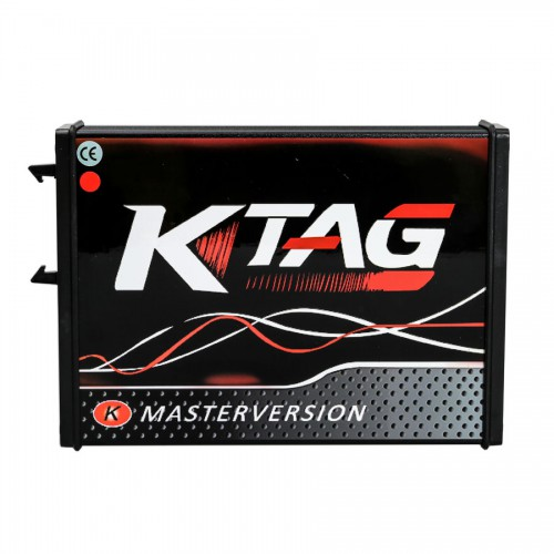 [UK ship No Tax] V2.25 KTAG ECU Programming Tool Master Version Firmware V7.020 Online Version with Red PCB Unlimited Token