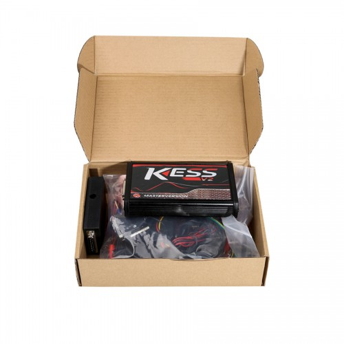 [UK SHIP] Online Version Kess V5.017 with red PCB Support 140 Protocol No Token Limited