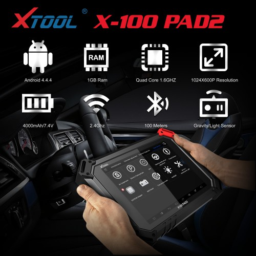 XTOOL X100 PAD2 Standard Version (Ship From UK)