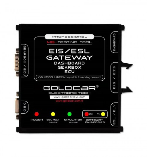 Mercedes Benz EIS EZS ESL ELV Dashboard Gateway Testing Tool