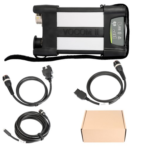 Free Shipping Volvo VOCOM II 88894000 with APCI PTT 2.7.25 Tech Tool Excavator Heavy Truck Diagnostic Scanner