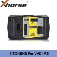 5 Tokens VVDI2 BAG MB TOOL BENZ Password Calculation