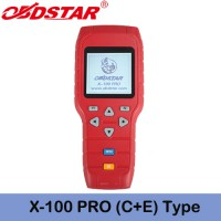 OBDSTAR X-100 PRO X100 Pro Car key programmer (C+E) Type With IMMO +OBD Software Get OBDSTAR PIC and EEPROM 2-in-1 Adapter Free