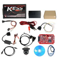 [UK SHIP] Online Version Kess V2 V5.017 with red PCB Support 140 Protocol No Token Limitation