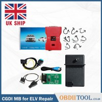 [UK SHIP] CGDI Prog MB Benz Key Programmer with Full Adapters for ELV Repair Support All Key Lost