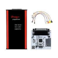 V84  Iprog+ Pro Key Programmer With Probes adapted for IPROG+ And  IPROG Pro PCF79xx SD-card Adapter