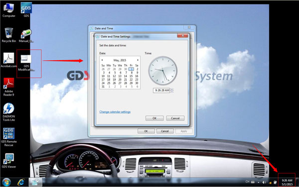 V2.14 GDS VCI Software for Hyundai & KIA Stored in 550G SATA Format HDD