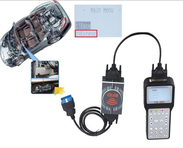 ck200 ck 200 ck-200 extend vehicle connection