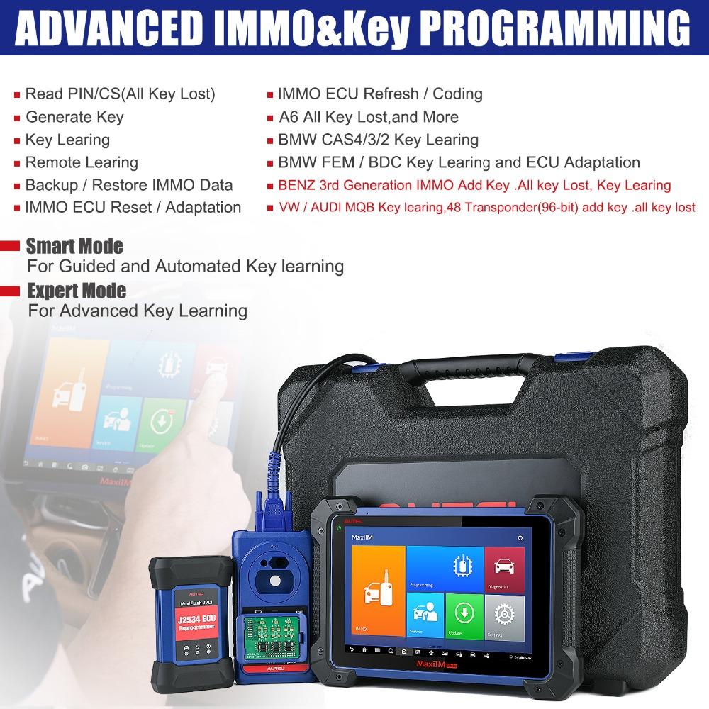 Autel MaxiIM IM608 Key Programmer Replaced AURO OtoSys IM600