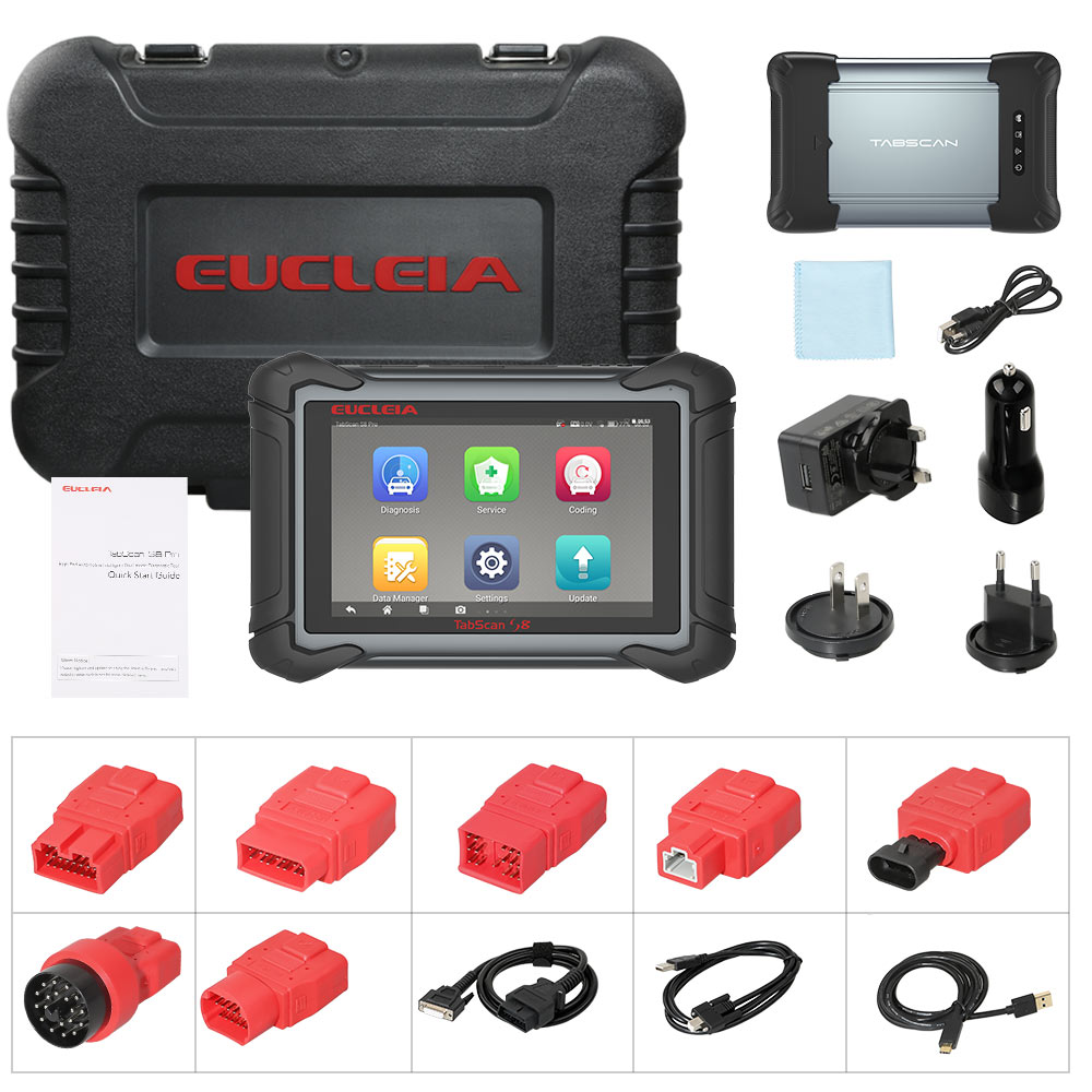 EUCLEIA S8 PRO Package includes