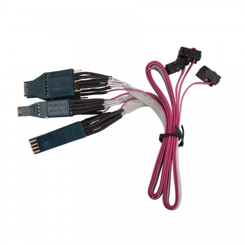 Set of NO. 42 Cable EEPROM DIP-8CON NO. 43 Cable EEPROM SOIC-14CON NO.44 Cable EEPROM SOIC-8CON for Jan Version Tacho Pro