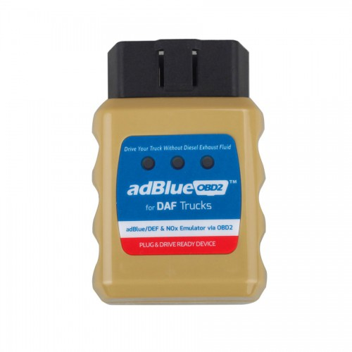 Ad-blueOBD2 Emulator for FORD DAF IVECO MAN SCANIA Volvo Renault Benz Trucks Plug and Drive Ready Device by OBD2