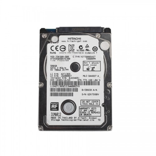 Newest V2.14 GDS VCI Software for Hyundai & KIA Stored in 550G SATA Format HDD