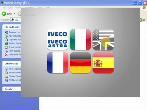 Iveco Easy E.A.SY (Electronic Advanced System) Sortware and Keygen with Database send by CD