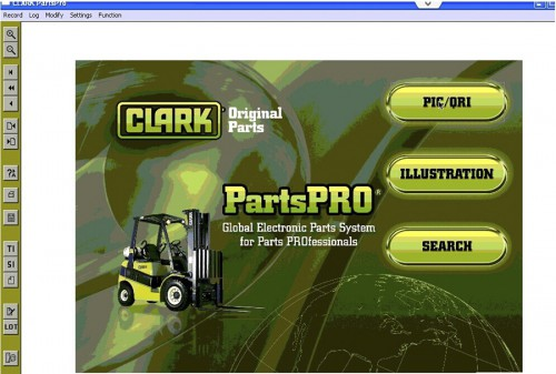 2015 Clark ForkLift (PartProPlus) Electronic Spare Parts Catalogs multi-language support XP WIN7 WIN8