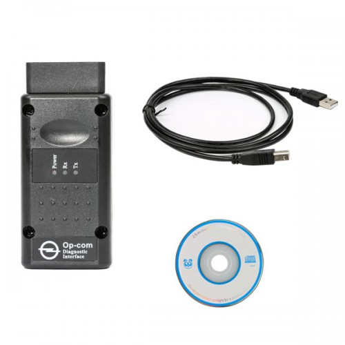 New Arrival Opcom OP-Com Firmware V1.65 V 2010/2014  Can OBD2 for OPEL Free Shipping