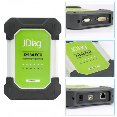 JDiag Elite II Pro J2534 Device with Full Adapters