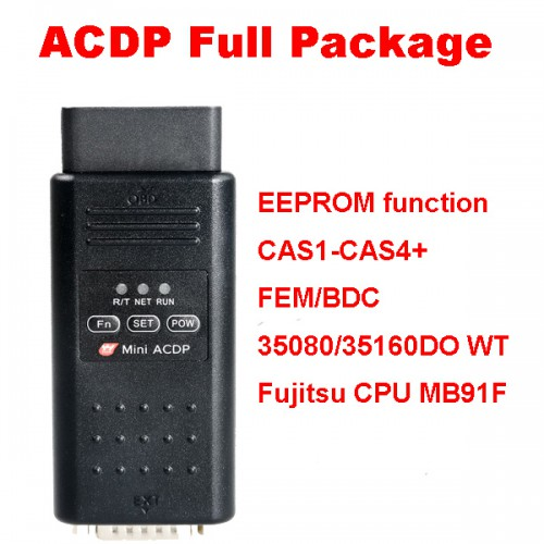 Yanhua Mini ACDP EEPROM function/CAS1-CAS4+/FEM/BDC/ISN Read/35080/35160DO WT/Fujitsu CPU MB91F Full Package