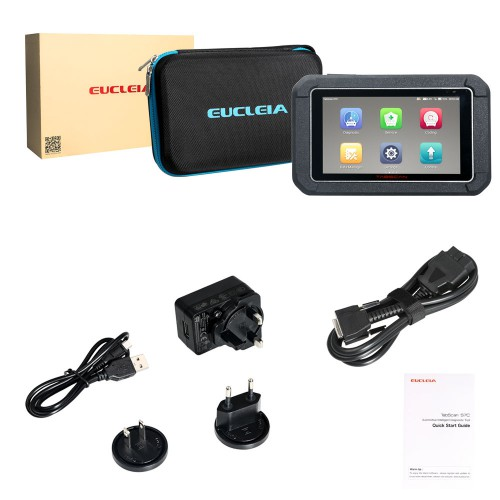 EUCLEIA TabScan S7C Automotive Intelligent Dual-mode Diagnostic System Built-in WiFi and Bluetooth