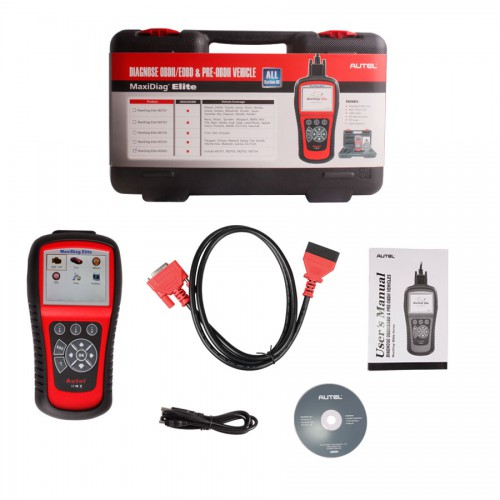 Autel MaxiDiag Elite MD802 All System Scanner+DS Model
