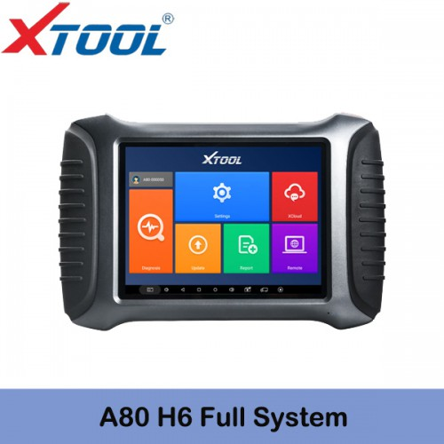 XTOOL A80 Bluetooth WiFi Full-System Car Diagnostic Tool