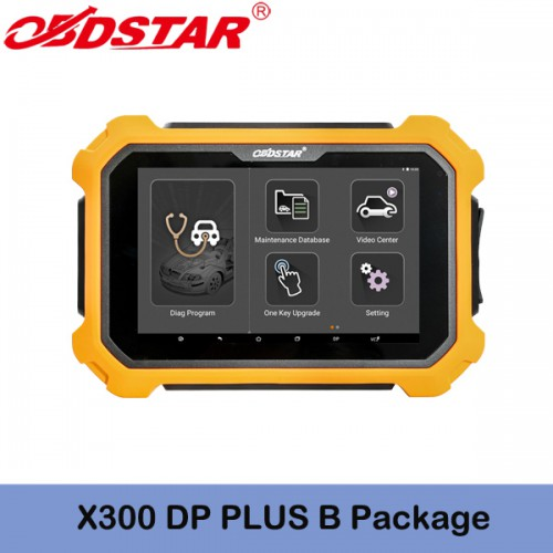 OBDSTAR X300 DP PLUS X300 PAD2 B Package Supports Immobilizer+Special Function +Mileage Correction