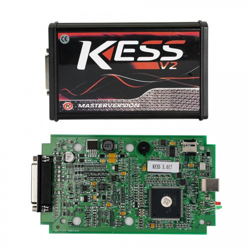Online Version Kess V2 V5.017 with Green PCB Support 140 Protocol No Token Limited Green Board