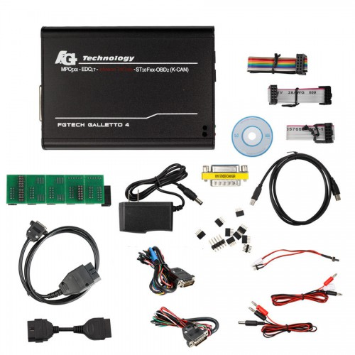 [ UK SHIP ]Latest Version V54 FGTech Galletto 4 Master 0386 Unlock Version With BDM-TriCore-OBD Function