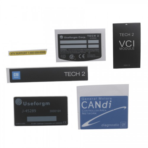 Tech 2 Diagnostic Scanner for GM with 32MB Card and TIS2000 in Carton Package