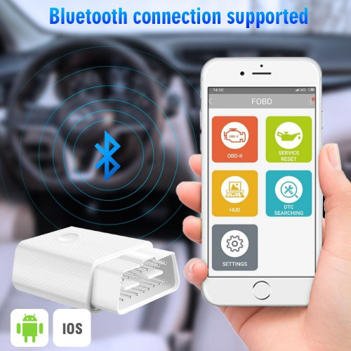 FCAR FVAG Bluetooth Full System OBD2 Code Reader for Android & IOS Phone