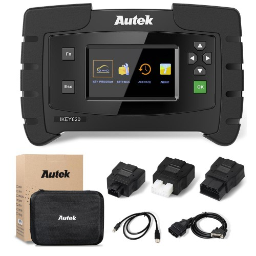 New Version Original Autek IKey820 OBD2 Car Key Programmer Free Tokens Online update