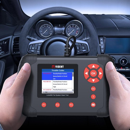 [UK SHIP] VIDENT ILINK400 CAR OBD2 Scanner Engine ABS SRS A/T Full System Diagnostic Tool