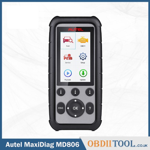 Autel MaxiDiag MD806 Pro OBD2 Scanner Full System Diagnostic Tool Lifetime Free Update