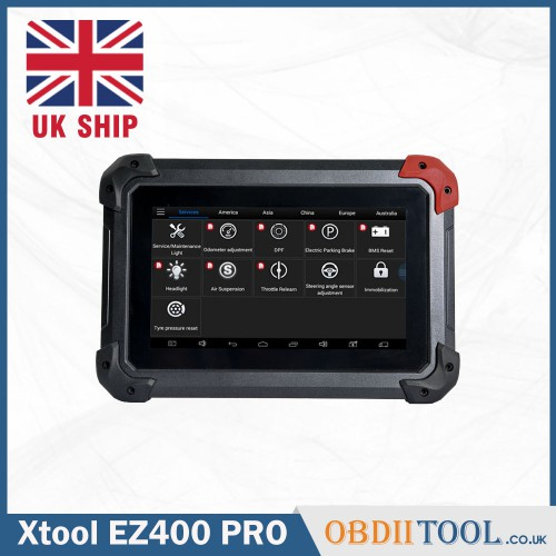 [UK SHIP] XTOOL EZ400 Pro Diagnostic tool +IMMO+Oil Service + EPB + TPS (No extra VCI)