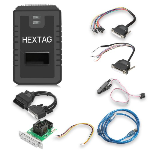 Original Microtronik HexTag Programmer V1.0.8 with BDM Funtions Newly Add Tricore Module