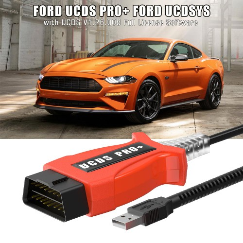 [ UK SHIP ] Ford UCDS Pro+ Ford UCDSYS with UCDS V1.26.008 Full License Software Free Shipping