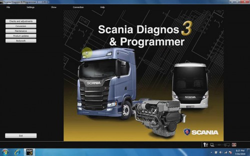 V2.44 Scania VCI-3 Wifi Scanner Diagnostic Tool + Scania SDP3 V2.44 Diagnosis & Programmer