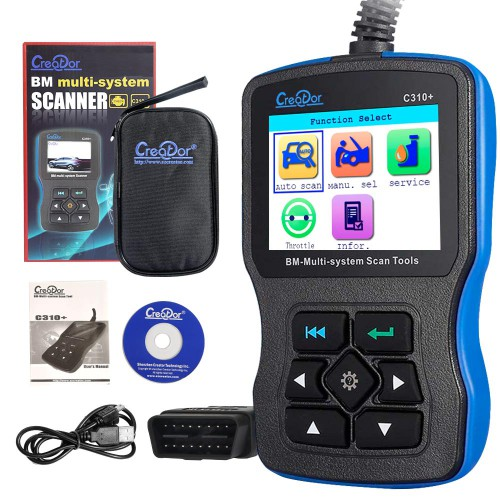 [UK SHIP] V11.7 Creator C310+ BMW Multi System Scan Tool OBDII/EOBD Code Reader