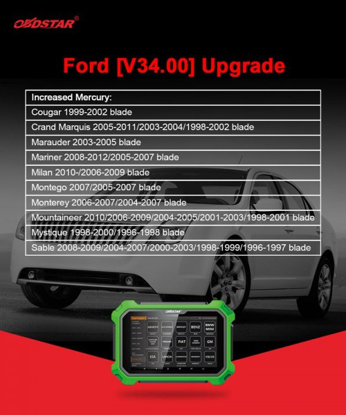 [UK SHIP] OBDSTAR X300 DP Plus Full Version key Programmer Supports ECU Programming & Toyota Smart Key Get Free Renault Convertor and FCA 12+8 Adapter