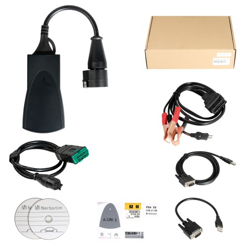 [UK SHIP] Cost-effective Lexia-3 Lexia3 V48 PP2000 V25 Evolution with LED Lights Diagnostic Tool for Peugeot/Citroen