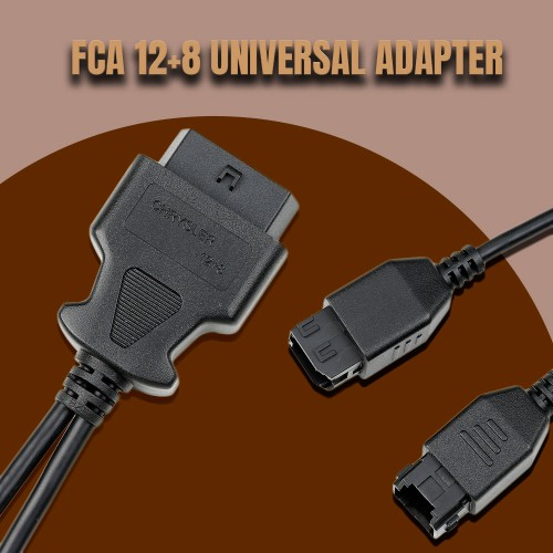 [UK SHIP] OBDSTAR FCA 12+8 UNIVERSAL ADAPTER for OBDSTAR X300DP or X300DP PLUS