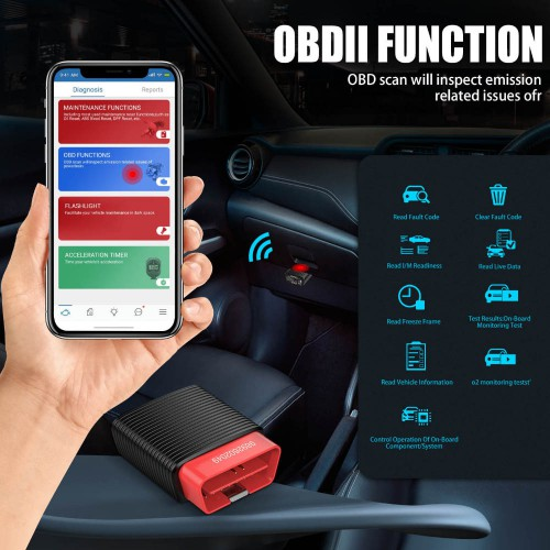 Original Thinkcar 2 ThinkDriver Bluetooth Full System OBD2 Scanner for iOS Android