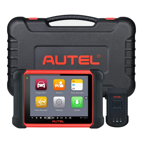 Autel MaxiCOM MK906BT OBD2 Diagnostic Scanner with Bluetooth VCI Box Upgraded Version of Maxisys MS906BT Support ECU Coding & Bi-Directional