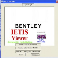 Repair Workshop Service Manual EPC ASSIST IETIS 2010 for Bentley send by CD