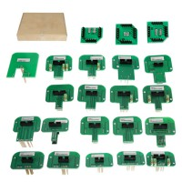 [UK SHIP] KTAG KESS KTM Dimsport BDM Probe Adapters Full Set LED BDM Frame ECU RAMP Adapters - 22pcs/lot Free Shipping