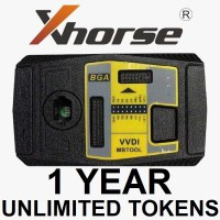Unlimited Tokens for Xhorse VVDI MB BGA Tool Calculation  (One Year)