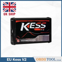 [UK SHIP] Online V2.53 EU Kess v2 V5.017 OBD2 Manager Tuning Kit Online Version Red PCB  ECU Programmer